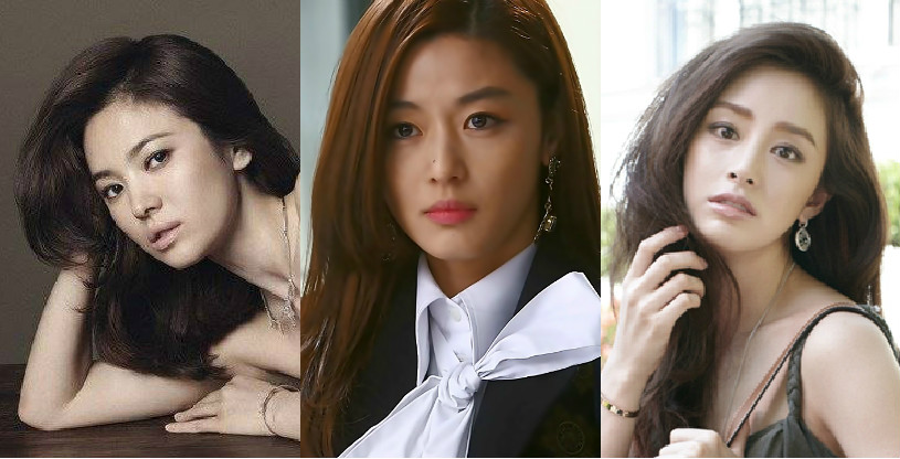 Most Beautiful and Sexiest Korean Female Stars