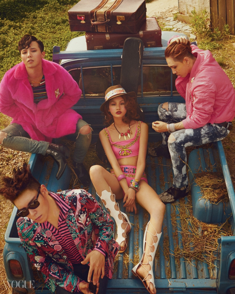 BIGBANG Vogue Korea June 2015
