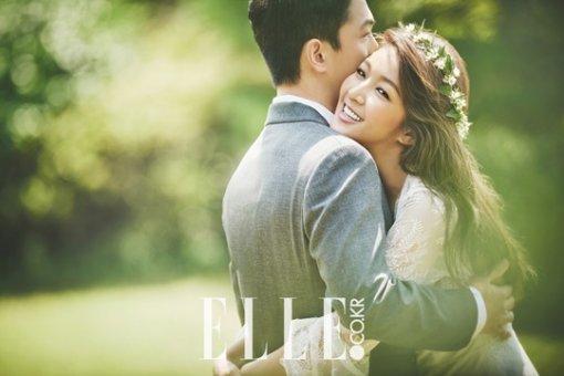 Kim Bin Woo Elle Bride