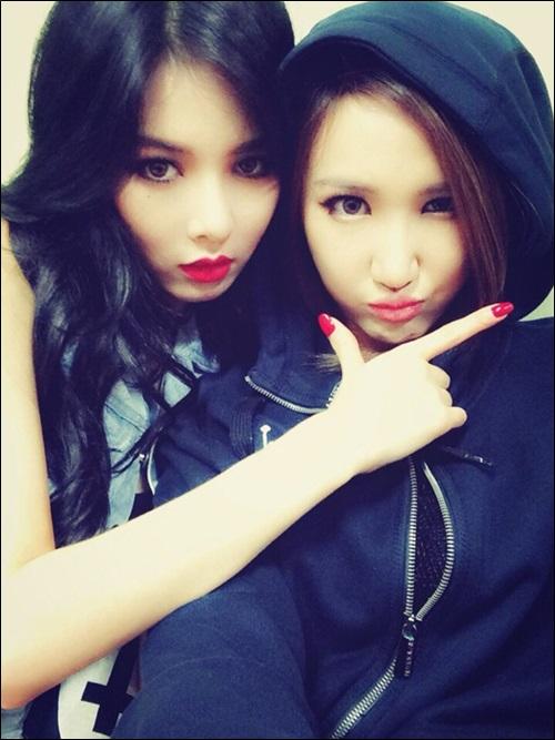 LE and Hyuna