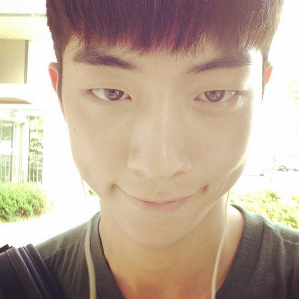 Nam Joo Hyuk selfie