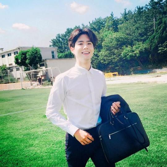 Park Bo Gum in Remember Me