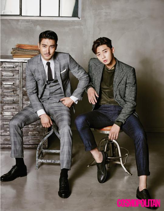 Park Seo Joon Choi Siwon