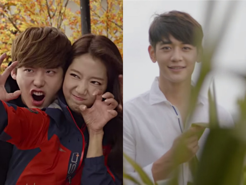September 2015 CFs: Lee Jong Suk, Park Shin Hye, SHINee, and More
