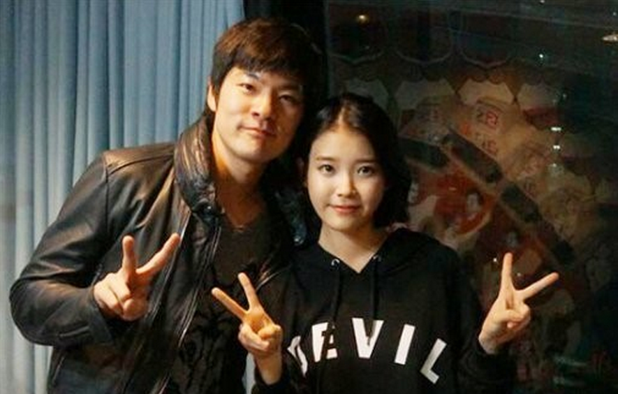 Taken in 2013 when IU was a guest on Jang Ki Ha's radio show