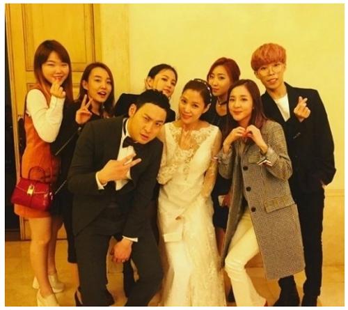 epik high wedding - guests