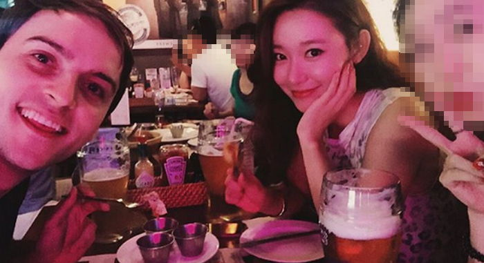 "Guillaume Patry From ""Abnormal Summit"" Is Dating Rookie Actress Song Min Seo"