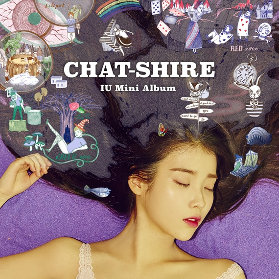 iu chat-shire mini album