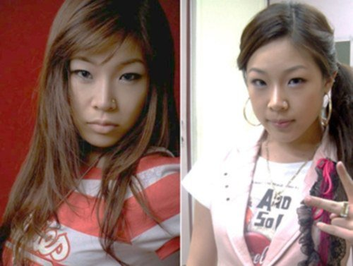 rapper jessis old photos surface and gain attention soompi