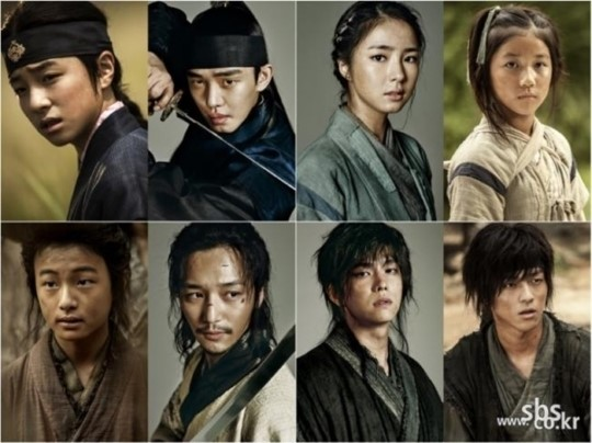 six flying dragons child actors