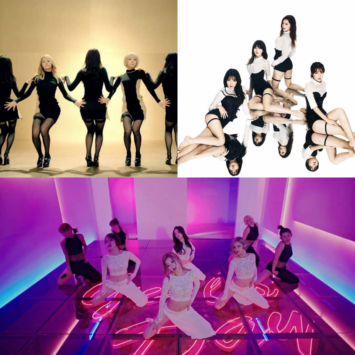 2014 Sexy Girl Groups