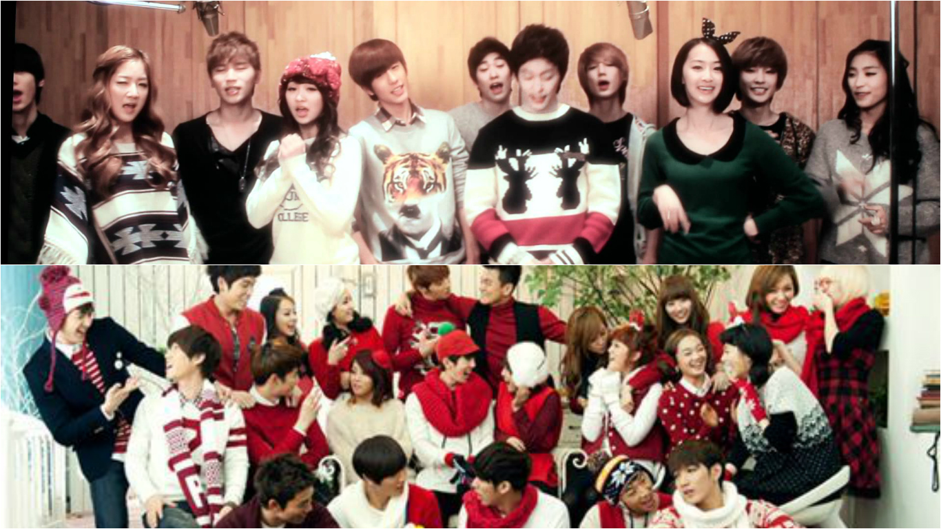 K-pop Christmas Releases