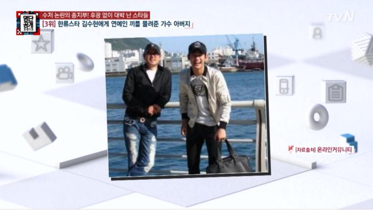 Kim Soo Hyun - Father