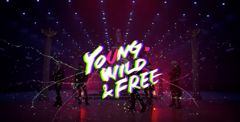 b.a.p young wild and free mv teaser