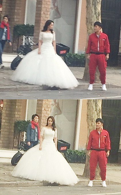 song ji hyo-wedding dress