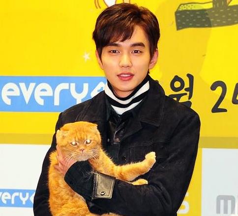 yoo seung ho imaginary cat