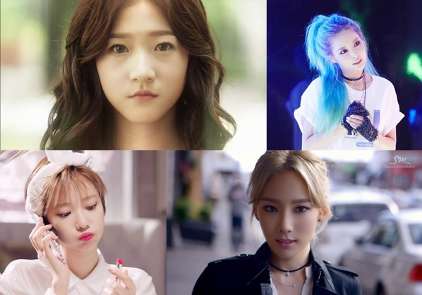 Our 2015 K Celebrity Female Hairstyle Wish List Soompi