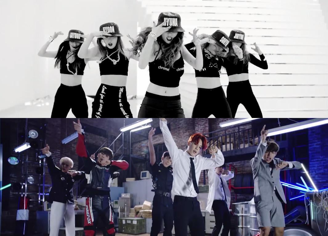 2015 K-Pop choreography