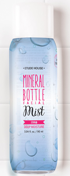 Etude House Mineral Bottle Facial Mist Deep Moisture