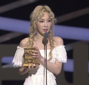 Girls Generation Taeyeon MAMA Hair