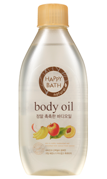 Happy Bath Real Moisture Body Oil