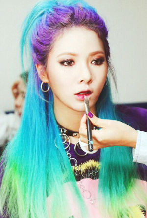 Hyuna Mermaid Hair
