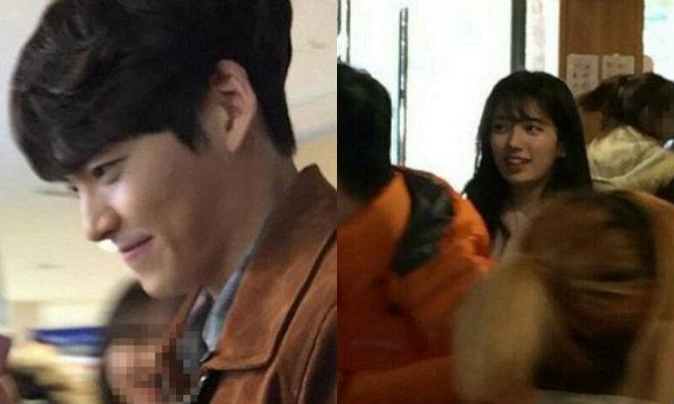 Kim Woo Bin and Suzy