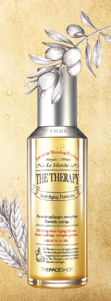 The Face Shop The Therapy Oil-Drop Anti-Aging Serum
