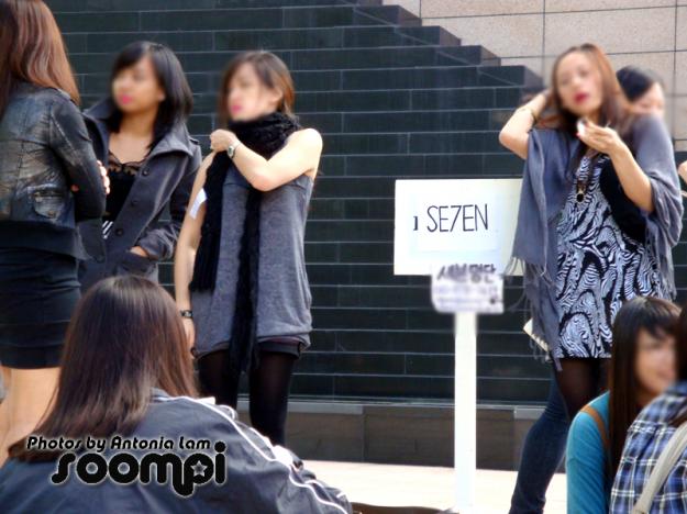 se7en fans are looking hot!
