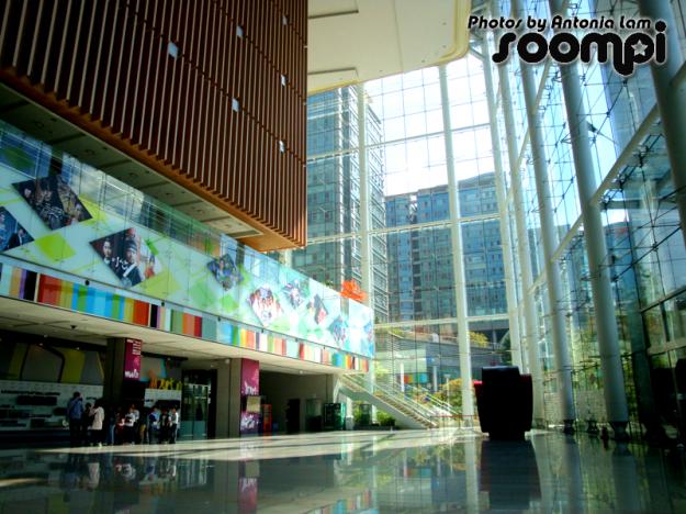 The inside of MBC's Dream Center