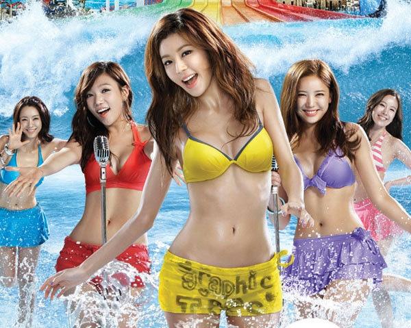 Son Dam Bi Readies Her Sexy Bikini Body For Ocean World -7096