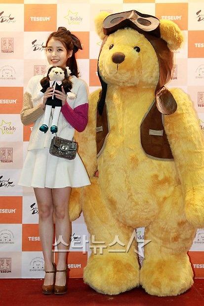 Iu Snsd And T Ara Meet Their Teddy Bear Counterparts At The Seoul Doll