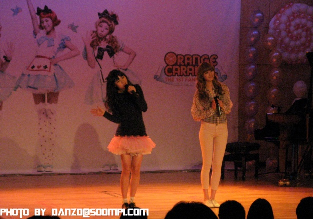 duet perf! I don't know the name of the song.