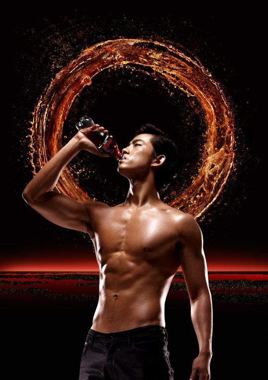 2PM Taecyeon Shows Off Charisma and Abs in New CF | Soompi  2PM Taecyeon Sh...