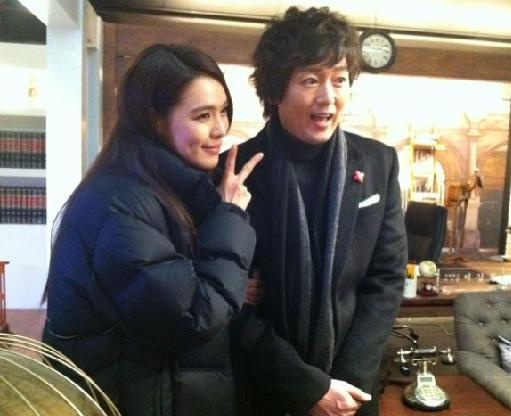 Kim Jung Tae with Kahi