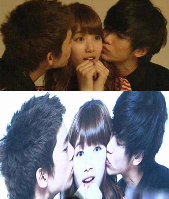 Suzy Garners Attention for Being Kissed by Taecyeon and ...