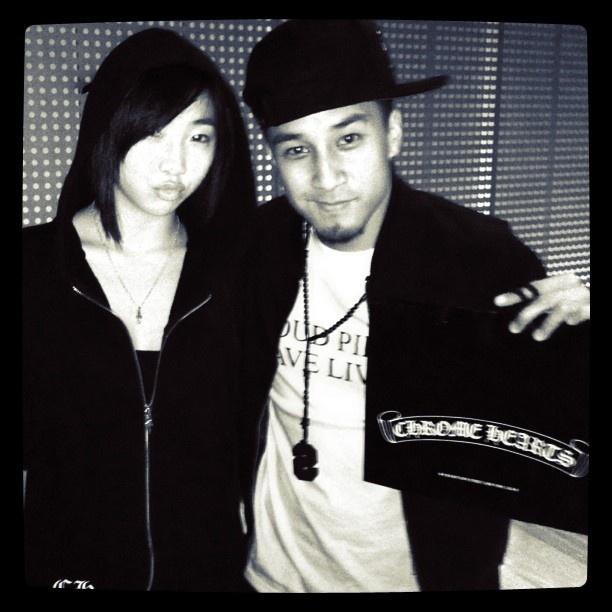 Shaun Evaristo and Gong Minji