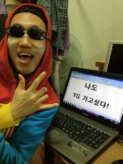 Comedian Kim Kyung Jin