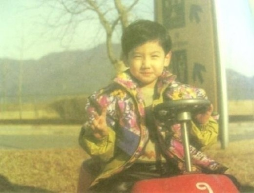 Changmin's baby photo