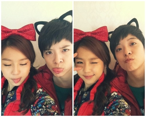 Invincible Youth Kim Ye Won and Amber Selcas Together