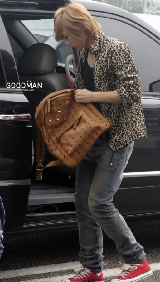 Male celebrity backpacks