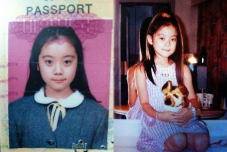 Hyelim before she was Wonder Girls